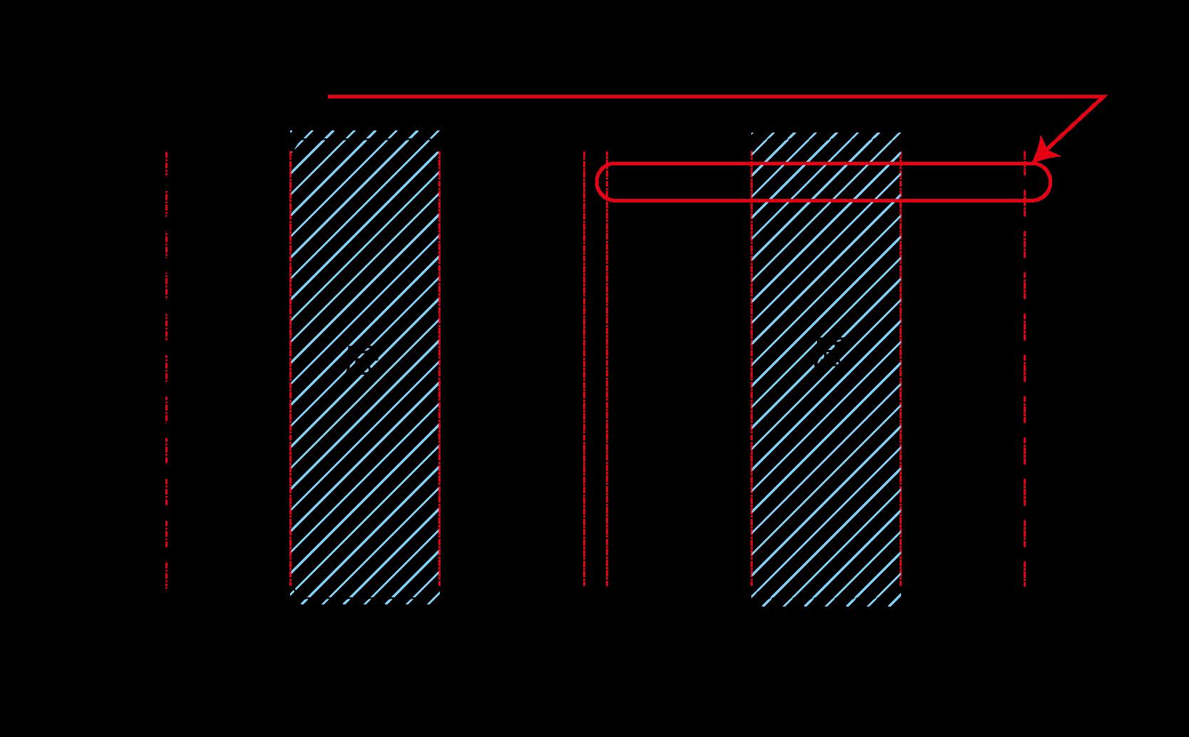 仕切りの構造
