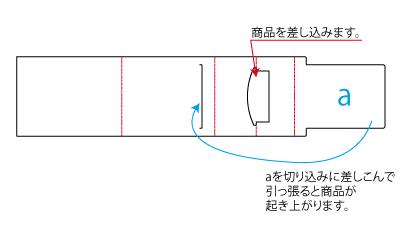 サンプル、試供品の配布用台紙