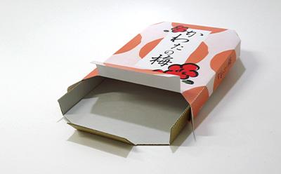梅干しのお土産のパッケージ