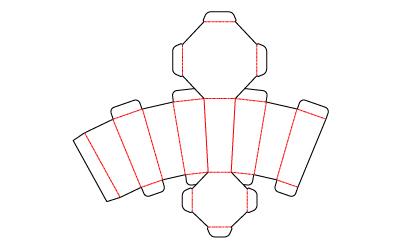 特殊な形状のパッケージ