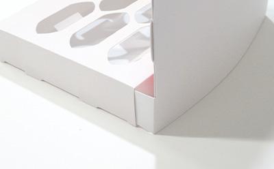 両面テープがいらないカウンター什器