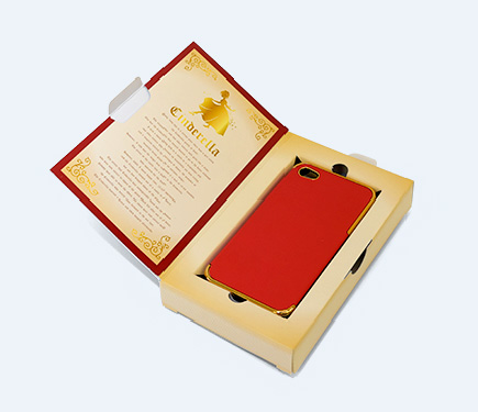 スマートフォン用パッケージ(ブックタイプ)
